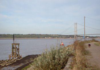 Views of the Humber Estuary.